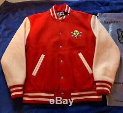 100% Authentic Billionaire Boys Club Bbc Ice Cream Cones & Bones Varsity Jacket