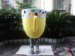 2018 Ice Cream Cup Mascot Costumes Drink Restaurant Cosplay Outfits Adversting