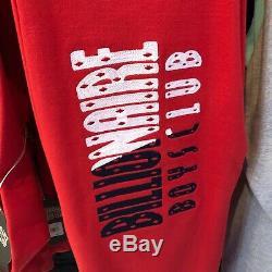 2020 Brand New Billionaire Boys Club BBC Red Sweatsuit Hoodie Pants ICECREAM L