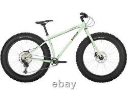 2021 Surly Ice Cream Truck Fat Bike Buttermint Green Complete Fat Bike LARGE