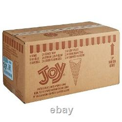 432 Count 7 Kosher Wide Mouth Large Waffle Pointed Ice Cream Cones