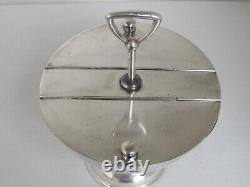 Antique Silver Plate Soda Fountain Condiment Holder for Ice Cream Sundaes Large