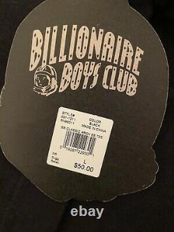 BBC Billionaire Boys Club Ice Cream Tees Black Large NEW Lot of 3 Supreme