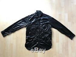BBC/ICECREAM Billionaire Boys Club Black Nylon Military Jacket Mens Size L Large