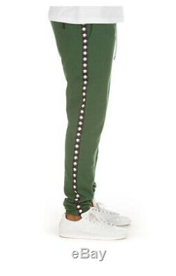 BBC ICE CREAM Santa Monica Sweatpant Dark Green 491-8105 Brand New Withtags
