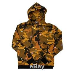 BBC ICE CREAM full track suit CAMO Size Large Hoodie Sweats Pants L Brown