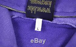 BBC/Ice Cream BBC FULL LOGO GRADIENT HOODIE purple men's L