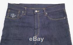 BBC/Ice Cream Cones & Bones Embroidered Pocket Raw Denim Shorts indigo L