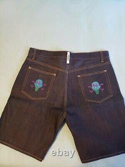 BBC Ice Cream Denim Shorts Size 35-36 Waist