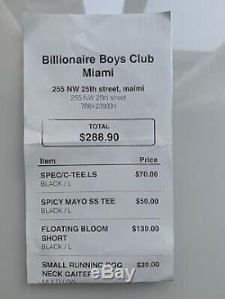 BBC Ice Cream FLOATING BLOOM SHORT L Billionare Boys Club (Sold Out)