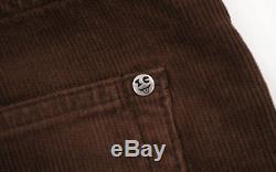 BBC/Ice Cream IC Embroidered Corduroy Pants brown men's L