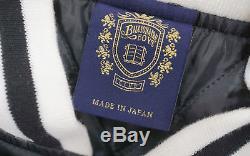 BBC/Ice Cream Vegas Satin Varsity Jacket black men's L