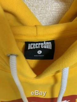 BBC Icecream Parker Hoodie Size L