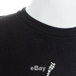 BILLIONAIRE BOYS CLUB BAPE Ice Cream cone Swarovski crystal encrusted t-shirt L