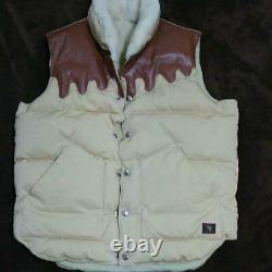 BILLIONAIRE BOYS CLUB Pharrell N. E. R. D Ice Cream OG Map Down Vest Size L