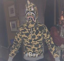 Bape A bathing ape Shark hoodie 1st camo ice cream supreme pharrell bbc