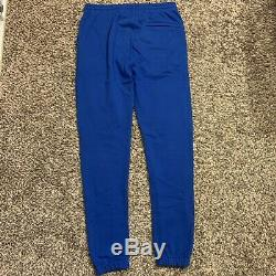 Bbc Billionaire Boys Club Ice Cream Blue Running Dog Jogger Sweatpants Sz Large