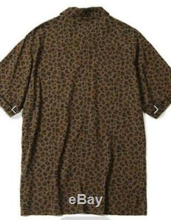 Bbc Billionaire Boys Club Leopard Bowling Shirt Icecream Size L