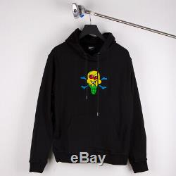Bbc Ice Cream Chenille Black Hoodie Size S M L XL XXL