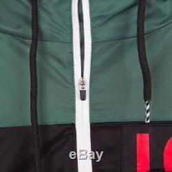 Bbc Ice Cream Mens Streetwear Slice Black Jacket S M L XL XXL