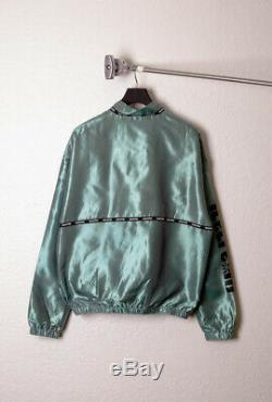Bbc Ice Cream Mens Streetwear Woven Label Taping Iridescent Jacket S M L XL
