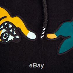 Bbc Ice Cream Pullover Hooded Running Dog Logo Chase Black Hoodie S M L XL XXL