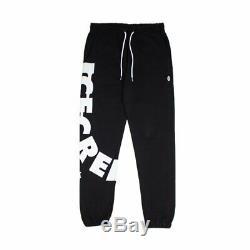 Bbc Icecream Mens Streetwear Ice Cream Drip Black Sweatpant S M L XL 2xl