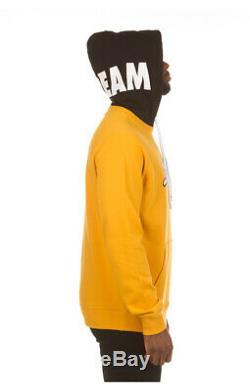 Bbc Icecream Pullover Running Dog Logo Koston Yellow Hoodie S M L XL XXL