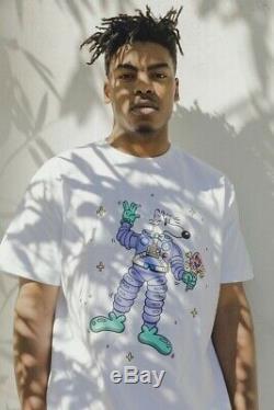 Bbc Icecream X Steven Harrington Mello White Tee T-shirt Size Large