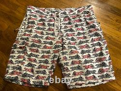 Bbc Icecream repeat running dog shorts XL Rare