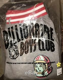 Billionaire Boys Club BBC ICE CREAM Chenille SWEATSUIT Size LARGE BRAND NEW