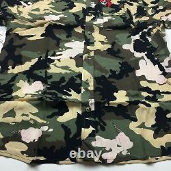 Billionaire Boys Club BBC ICE CREAM Enjoy S/S Woven Camo Button Up Mens Size L