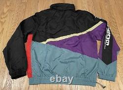 Billionaire Boys Club BBC ICE CREAM Steamer Windbreaker Track Jacket Mens L VTG