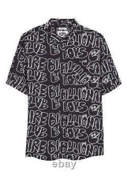 Billionaire Boys Club BBC Ice Cream Ripples Woven Shirt Large NWT $150