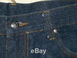 Billionaire Boys Club BBC Ice Cream Running Dog Jeans Blue 100% Cotton Large 36