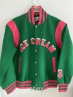 Billionaire Boys Club BBC Ice Cream Season 3 Frost Varsity Jacket F/W 2006