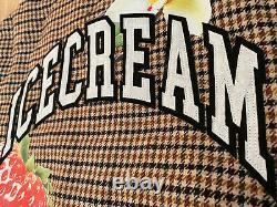 Billionaire Boys Club BBC Ice Cream Varsity Jacket LARGE