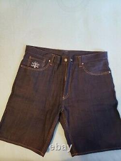Billionaire Boys Club Bape Ice Cream Denim Shorts Size L 34-36 Waist