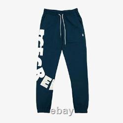 Billionaire Boys Club ICE CREAM Midnight Blue Drip Sweatpants Jogger 801-2106