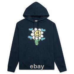 Billionaire Boys Club ICE CREAM Polar Caps Hoodie Pullover 411-1307 DRESS BLUE