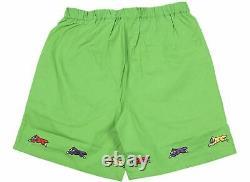 Billionaire Boys Club ICE CREAM Runners Shorts in Kelly Green 411-3107