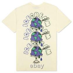 Billionaire Boys Club ICE CREAM Worldwide SS Shirt Knit Tee Pear Sorbet 411-2300