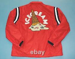 Billionaire Boys Club Ice Cream Adam Red Coach Jacket. Size L
