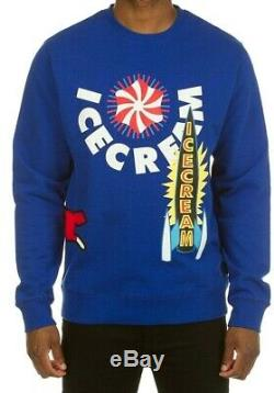 Billionaire Boys Club Ice Cream Stacker Crewneck Sweater Surf The Web 491-8306