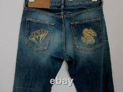 Billionaire Boys Club Jeans selvedge Denim BBC Ice Cream Diamond & Dollar size L