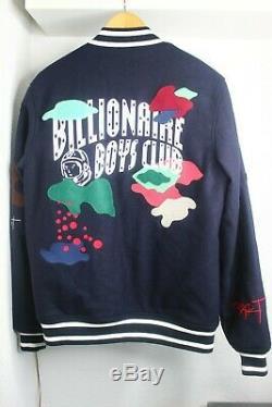 Billionaire Boys Club Mars Varsity Jacket sz Large RARE Letterman Ice Cream BBC