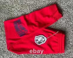 Billionaire Boys Club Red Fleet Jogger Sweatpants Size Large Mens NWT