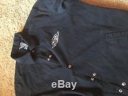 Billionaire Boys Club Season 3 Coach Jacket Mens L 2006 Pharrell Ice Cream Vtg