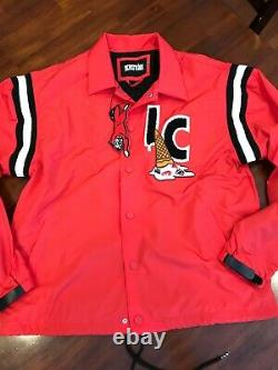 Billionaire Boys club Ice cream adam red coach jacket. (xL)$ 198