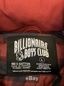 Billionaire boys club ice cream Oxford Red Jacket